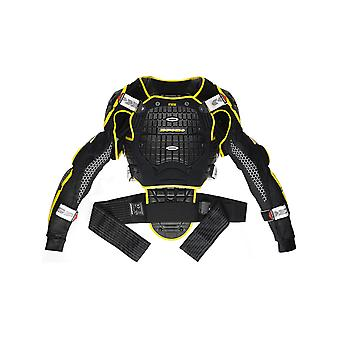 Chaqueta Spidi Black-Yellow Warrior Motorcycle Protection