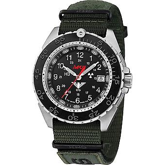 KHS - Wristwatch - Men - Enforcer Steel CR with Nato band XTAC Olive- KHS. ENFSCR. NXTO1