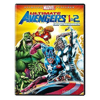 Divisa de Vengadores: Ultimate Avengers 1 + 2 (2 DVDs)