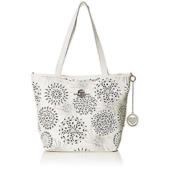 Chicca Bags Cbc7713tar White Women's Shoulder bag 15x31x41 cm (W x H x L)