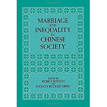Ægteskab og ulighed i det kinesiske samfund (undersøgelser Ona China)
