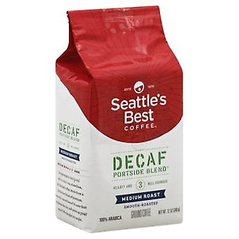 Seattle's Best Coffee Level 3 Decaf Ground Portside Blend