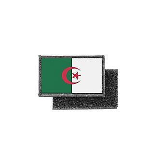 Patch ecusson imprime badge drapeau algerie algerien