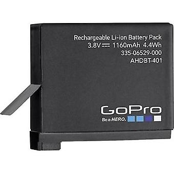 Camera battery GoPro replaces original battery AHDBT-401, 3661-1227 3.8 V 1160 mAh