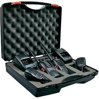 PMR handheld transceiver Albrecht Tectalk Worker 29830 2-piece set