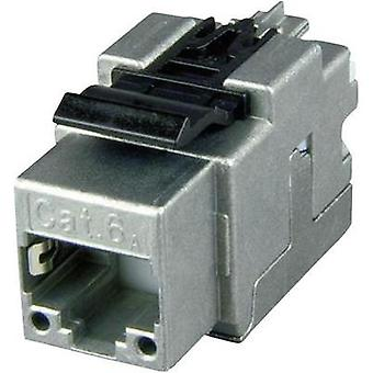 RJ45-modulen Keystone CAT 6A Telegaertner