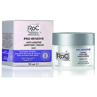 Roc Pro Renove Unifying Cream Anti Age 50 Ml