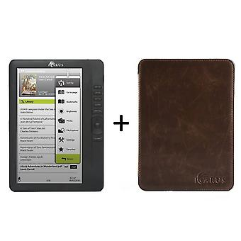 Bundle ICARUS Omnia M701BK  (G2) with Perfectfit espresso brown cover