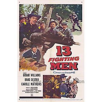 13 combattimenti uomo Movie Poster stampa (27 x 40)