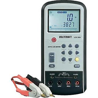 Component tester digital VOLTCRAFT LCR-300 Calibrated to: Manufacturer's standards (no certificate) CAT I Display (coun