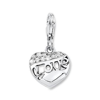 s.Oliver jewel ladies charm heart Love Silber SOCHA/235-487559