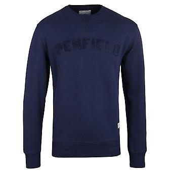 Penfield Brookport Blueprint Jersey Crew Neck Sweatshirt