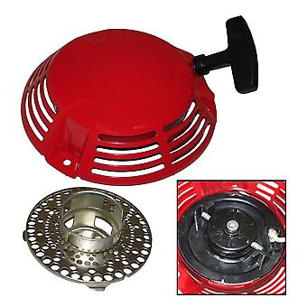 Recoil Pull Start Starter Assembly & Cup Compatible With Honda New Style GXV160