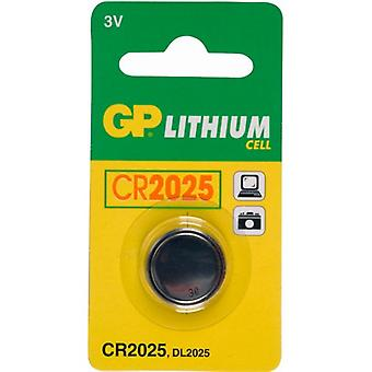 GP CR2025 Lithium mønt celle