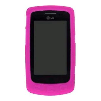 Wireless Solutions Silicon Gel Case for LG UX700 Bliss - Watermelon
