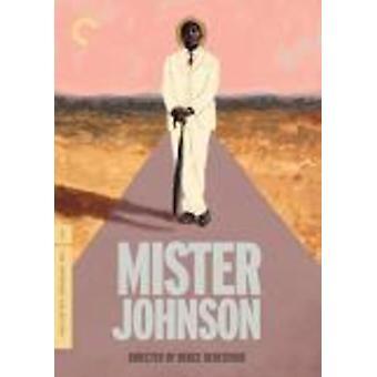 Mister Johnson [DVD] USA importeren