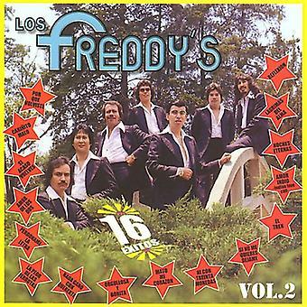 Los Freddy's - Los Freddy's: Vol. 2-16 Exitos [CD] USA import