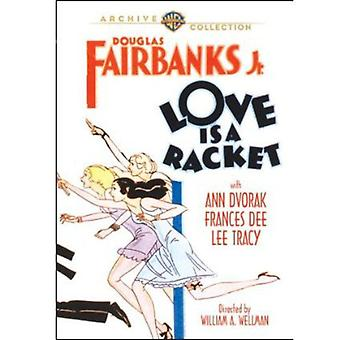Love Is a Racket [DVD] USA import