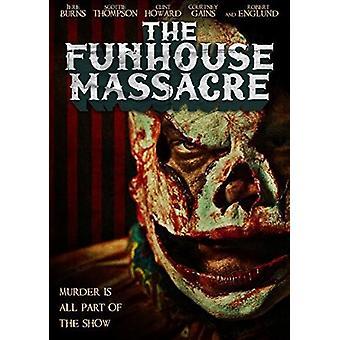 Massacre de Funhouse [DVD] EUA importar
