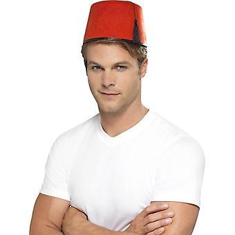 Marocchini Marocco Fez Arabi cappello rosso del cappello