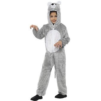 Los de niños de 7-9 años traje de ratón rata tamaño traje de ratón M