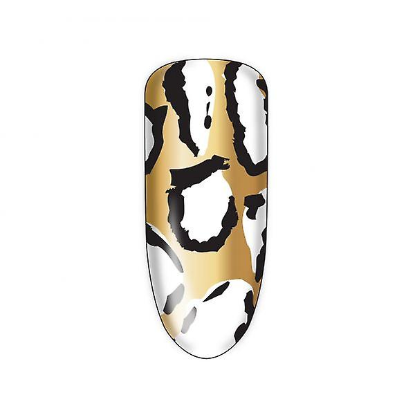 Nail Rock Nail Wraps Nail Rock Pony Skin Gold, Black & White Nail Wraps