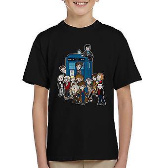 Adventure Time Dr die groter aan de binnenkant Kid de T-Shirt