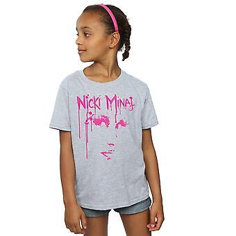 Nicki Minaj Mädchen Gesicht Drip T-Shirt
