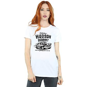 Disney Women's Cars Hudson Hornet Boyfriend Fit T-Shirt