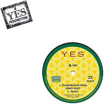 Jimmy Riley - alle har brug for penge / Reggae musik [Vinyl] USA import