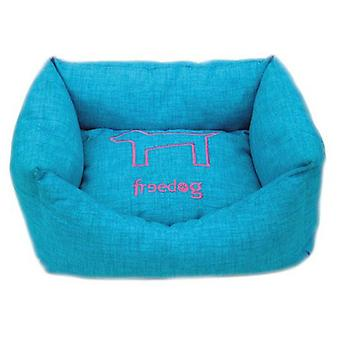 Freedog HQtex turquoise bed (honden, beddengoed, bedden)