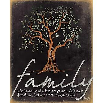 Familj - som grenar av en Tree affisch Skriv av Marla Rae (16 x 20)