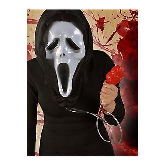 Halloween y horror máscara Scream