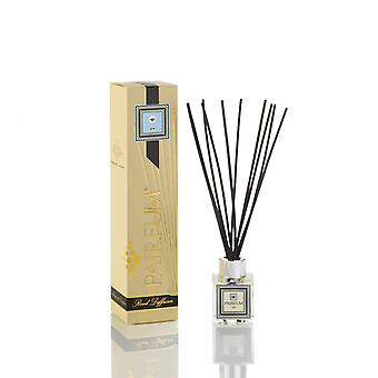 Natural Reed Diffuser - Long-lasting & Healthy - Beautiful Perfumes that Compliment You - Fragrance for 2-3 months (50 ml) - SPA by PAIRFUM - For Men - Black Reeds - Glass Cube