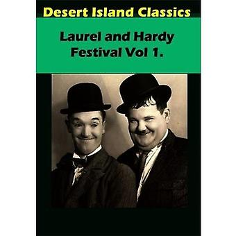 Laurel & Hardy Festival 1 [DVD] USA import
