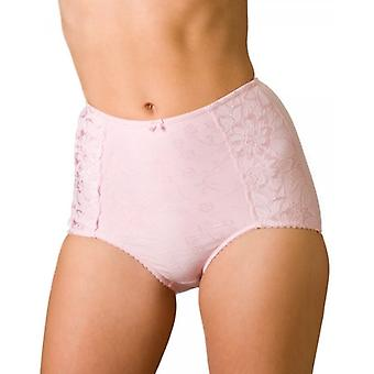 Camille Serenity Jacquard Light Control Support Brief Pink