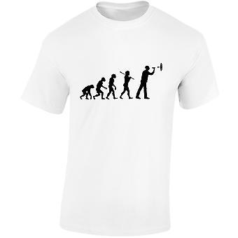 Darten evolutie Mens T-Shirt 10 kleuren (S-3XL) door swagwear