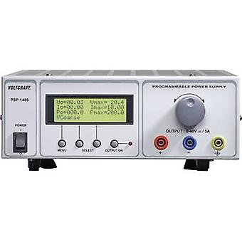 Bench PSU (adjustable voltage) VOLTCRAFT PSP 1405 0 - 40 Vdc 0 - 5 A 200 W RS232 programmable No. of outputs 1 x