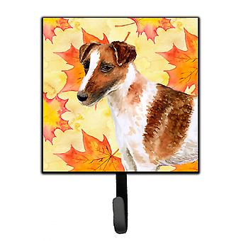 Carolines schatten BB9908SH4 Fox Terrier Smooth Fox Terrier val leiband of sleutelhouder