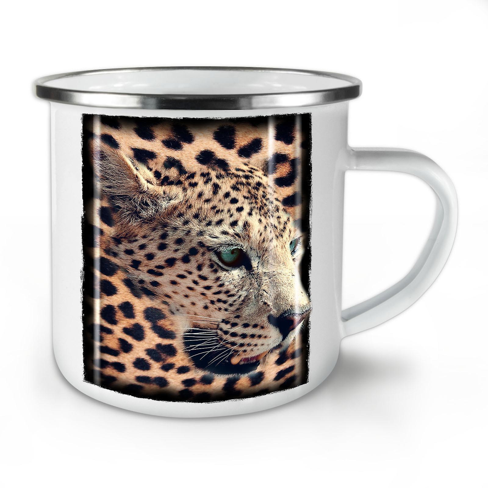 Mug10 Whitetea OzWellcoda Café Émail Animal Nouveau Sauvage 0m8nOvwNy