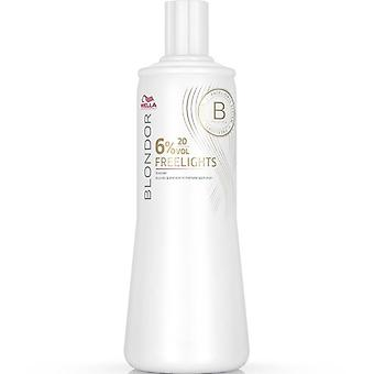 Wella Blondor FreeLights Oxidant 20 Volume 1000ml (6%)