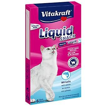 Vitakraft Snack Gel For Cat With Omega 3 (Cats , Treats , Chewy & Softer Treats )