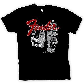 T-shirt van vrouwen - Fender Strat Play Loud - Gitaar