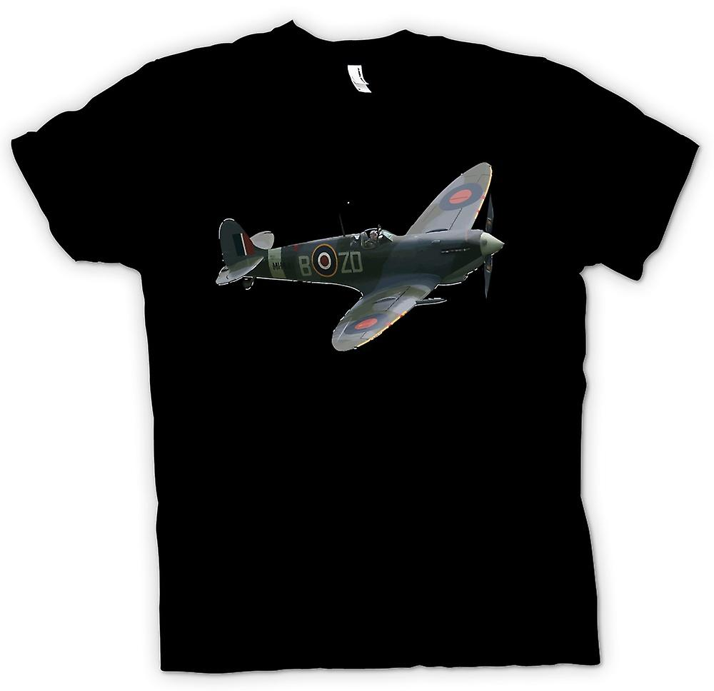 Mens t-shirt - Spitfire WW2 Airforce - battaglia di richiesto