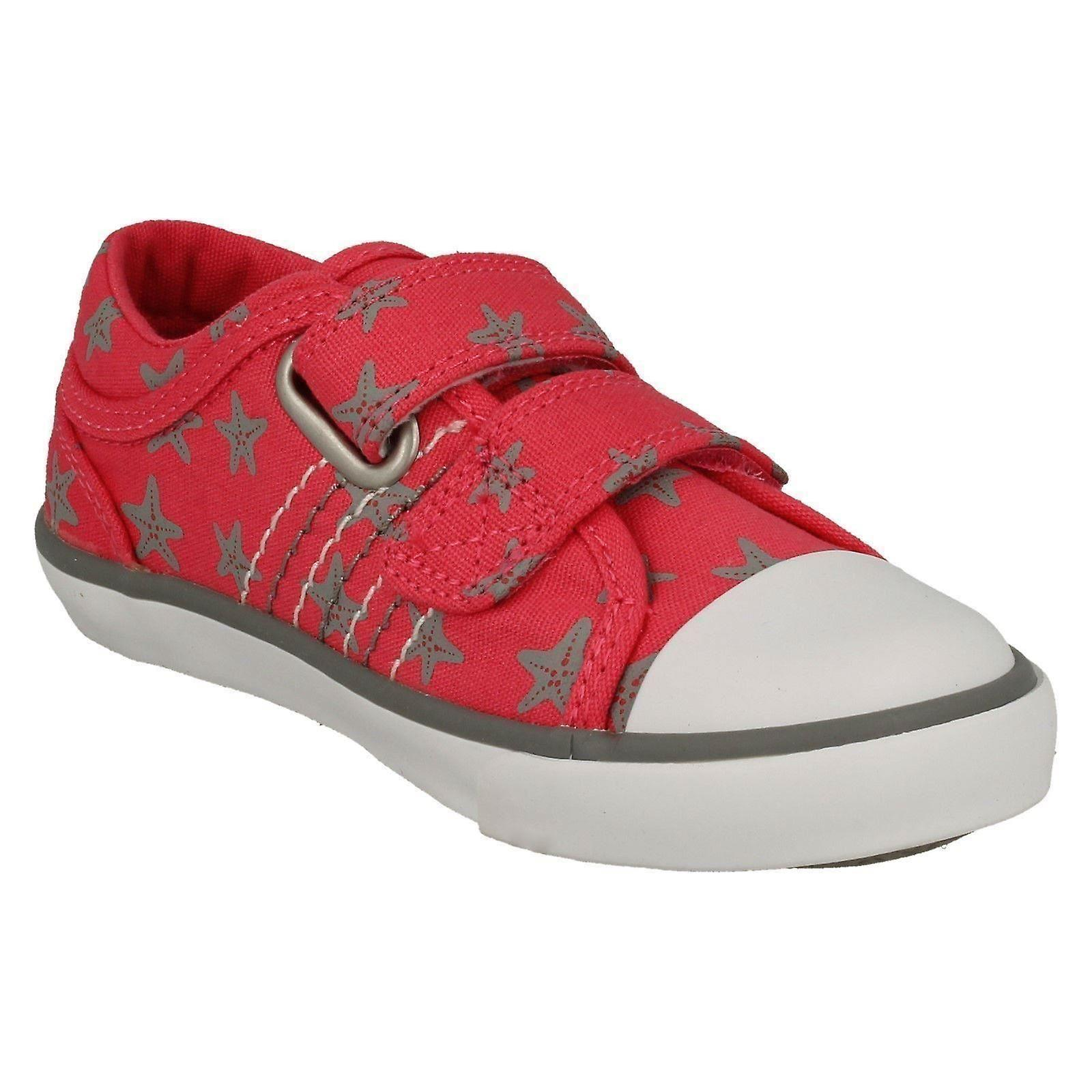 Childrens Boys/Girls Startrite Casual Shoes Zip - Pink Canvas - UK Size 9F - EU Size 27 - US Size 10