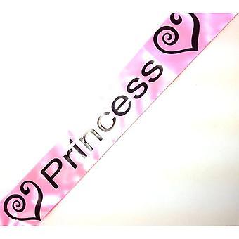 プリンセスのサッシュ