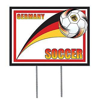 Deutschland Fußball Garten Zeichen