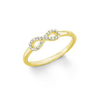 s.Oliver jewel ladies ring silver gold infinity 201247