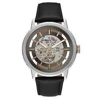Kenneth Cole New York men's watch automatic leather 10026782