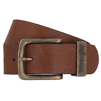 WRANGLER bälte läder kuter mäns bälten Cognac 2273